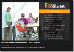 Office 365 for Enterprise